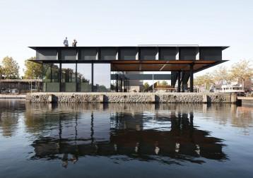 Ontvangstpaviljoen Piushaven Tilburg
